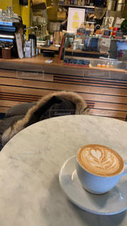 まったり休日カフェの写真・画像素材[2077187]