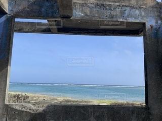 海,夏,ウォーキング,沖縄,廃墟,お散歩,天ぷら,奥武島