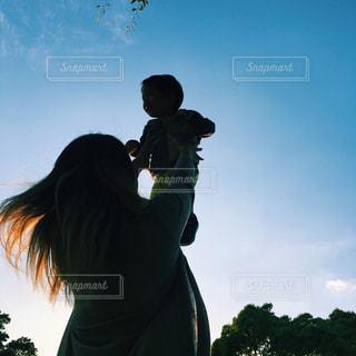 親子,男の子,息子,ママと子供の写真