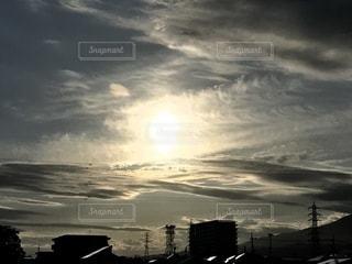 空に雲の群しをするの写真・画像素材[2456757]