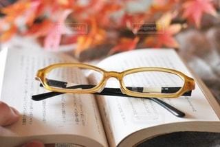 読書の秋の写真・画像素材[2758743]