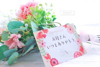母の日の花束の写真・画像素材[3207958]