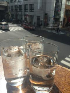 休日のカフェの写真・画像素材[2069498]