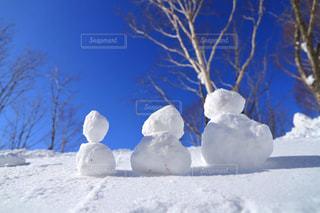 雪だるまの写真・画像素材[2808680]