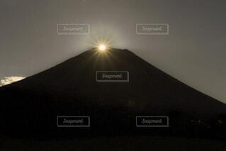 自然,風景,空,富士山,絶景,屋外,太陽,霧,山,月,日本,満月,パール富士