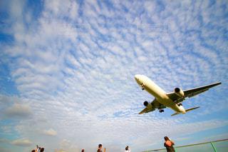 飛行機の着陸✈️の写真・画像素材[2280720]
