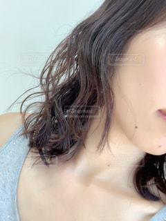女性のヘアスタイルの写真・画像素材[2459679]