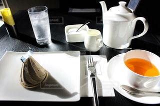 紅茶とスイーツの写真・画像素材[2636342]
