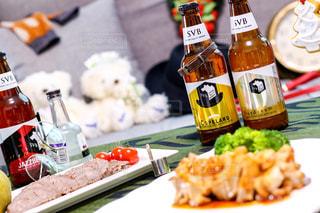 クラフトビールの飲み比べの写真・画像素材[2809404]
