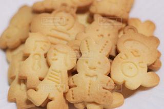 型抜きクッキーの写真・画像素材[3199056]