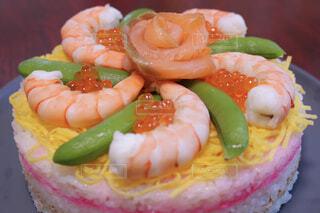 ちらし寿司ケーキの写真・画像素材[4331589]