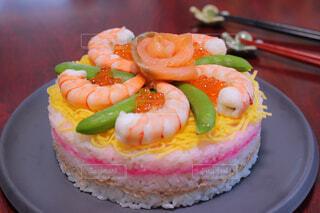 ちらし寿司ケーキの写真・画像素材[4331592]