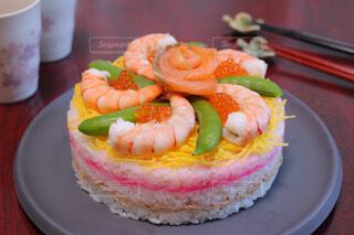 ちらし寿司ケーキの写真・画像素材[4331593]