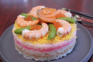ちらし寿司ケーキの写真・画像素材[4331590]