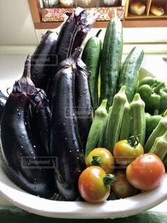 夏野菜の写真・画像素材[4655385]