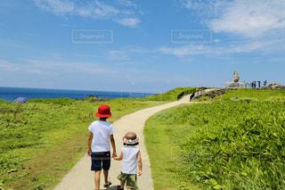 風景,沖縄,まったり,一眼レフ,10歳,兄妹,5歳,フォト,夏服,半袖
