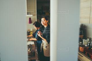 母とともにの写真・画像素材[4039916]