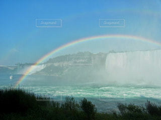 虹の橋の写真・画像素材[2571685]