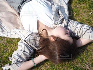 お昼寝の写真・画像素材[2091291]