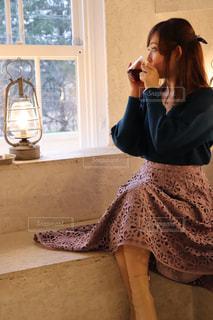 カフェの写真・画像素材[2149639]