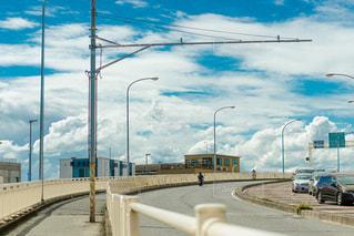 橋の閉鎖の写真・画像素材[2411460]