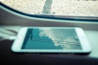 車窓のクローズアップの写真・画像素材[3249081]