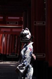 衣装を着ている人の写真・画像素材[3516840]