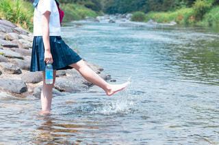 水遊びの写真・画像素材[3644552]