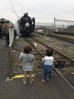 子ども,人物,機関車,SL,レジャー・趣味