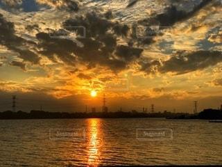 夕日の写真・画像素材[2663040]