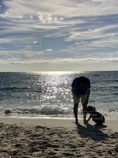 海,夏,夕日,砂浜,イベント,夏休み,パパ,父,父の日,6月16日