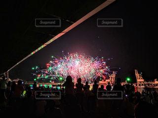 地元の花火大会の写真・画像素材[2448462]
