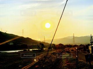 自然,風景,空,屋外,太陽,田舎,山,景色,光,癒し