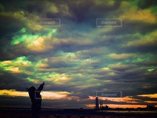 空にの写真・画像素材[2939710]