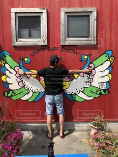 天使の羽根の写真・画像素材[2104357]