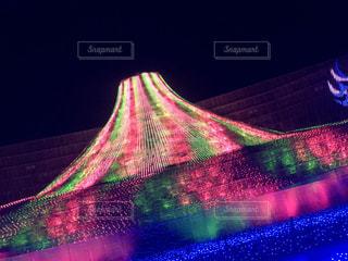 光のストライプの写真・画像素材[2146974]