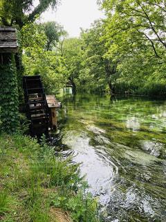 美しい川の写真・画像素材[2210847]