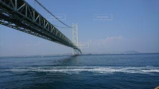 明石海京橋が水域を覆うの写真・画像素材[2329186]
