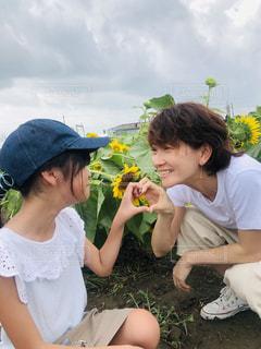 仲良し親子の写真・画像素材[2366512]