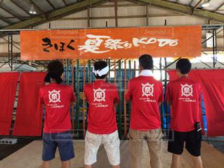 祭り亀4人衆の写真・画像素材[2394375]