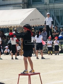 運動会の写真・画像素材[2479900]