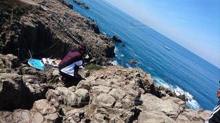 自然,海,カメラ,水面,崖,眺め