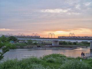 夕焼けの写真・画像素材[465972]