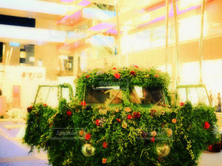 部屋のクリスマス ツリーの写真・画像素材[771868]