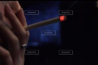 ピント甘めタバコの写真・画像素材[708616]