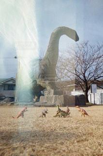 恐竜たちの写真・画像素材[2957503]