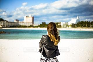 女性,20代,後ろ姿,人物,背中,人,後姿,和歌山,白浜