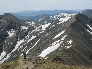 谷川岳頂上付近からの風景の写真・画像素材[2221174]
