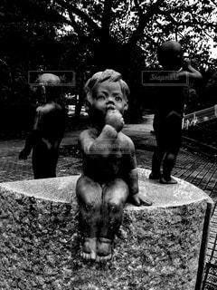公園,屋外,モノクロ,女の子,フィルム,男の子,雰囲気,フィルム写真,フィルムフォト