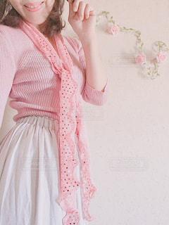 春ファッションの写真・画像素材[3115876]